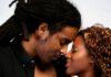 Dzaleu hommes couple-africain-baiser-embrasser homme noir locks