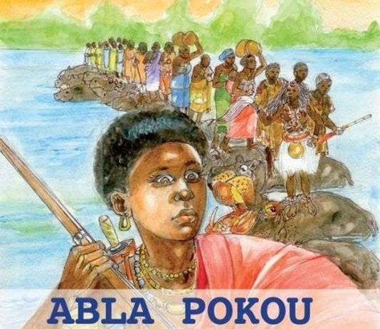 Abla pokou reine baoulé ashanti cote d'ivoire ofori mensah