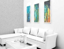 DZALEU.COM - Styles d vie : Déco intérieur design living-room contemporain moderne tons blancs