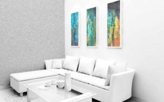 deco-salon-interieur-design-blanc-cadres-photos-salon-contemporain-coussins-blancs-canape
