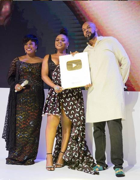 First African to reach the bar of 1 million subscribers on YouTube