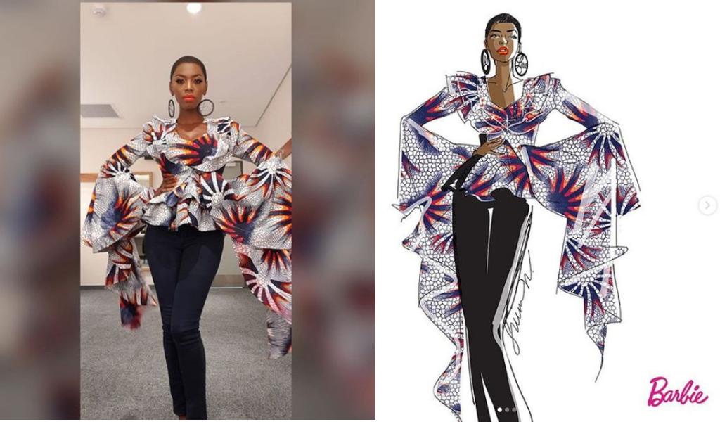 lira-lerato-molapo-shero black barbie-african-barbie-shero-campaign-mattel