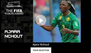 Dzaleu.com : african celebrities - Ajara Nchout, Soccer