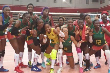 Dzaleu.com : sport africain - Volleyeuses du Cameroun