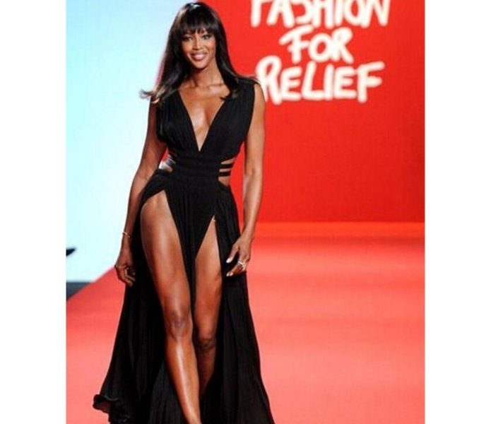 DZALEU.COM : African Lifestyle Magazine Black celebrities : Naomi Campbell for Calvin Klein