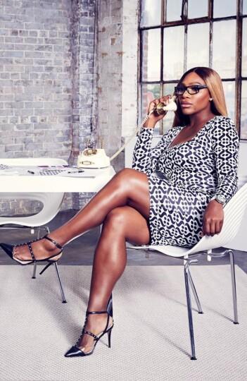 DZALEU.COM African Lifestyle Media - Black celebrities : Serena Williams Fashion Brand S by Serena