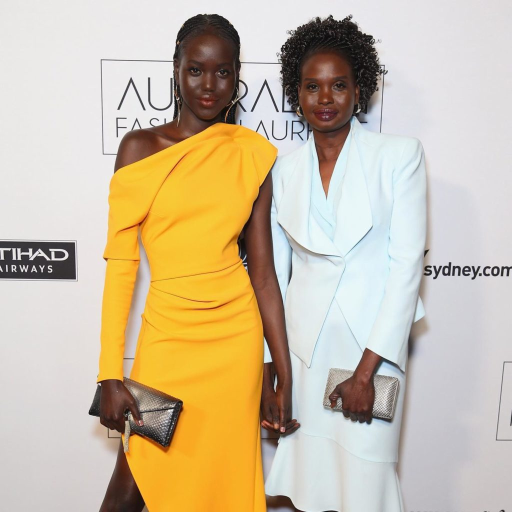 Adut Akech and her lovely mother / DR