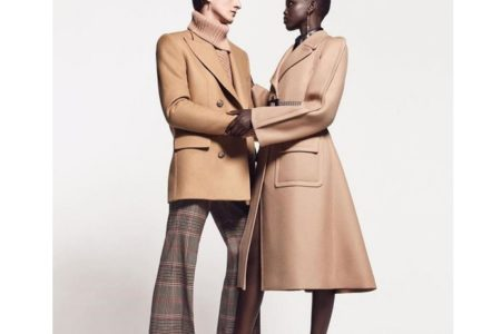 DZALEU.COM : African Lifestyle Magazine - Adut Akech & Henry Kitcher Givenchy campagne Winter of Eden Automne-Hiver 2019-2020