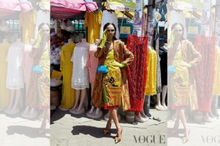 DZALEU.COM : African Lifestyle Magazine - Binx Waltons Shooting at Accra, Ghana (British Vogue October 2019)