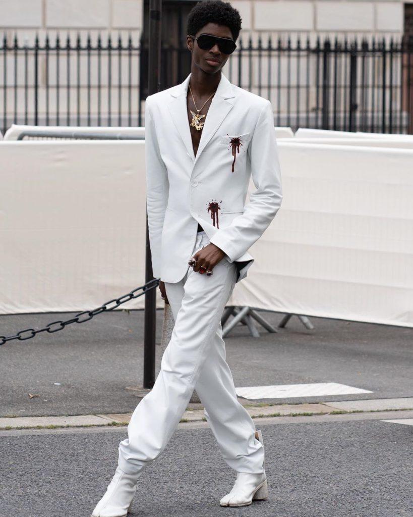 DZALEU.COM - African Lifestyle magazine - Mannequins hommes Noirs : Alton Mason (USA)