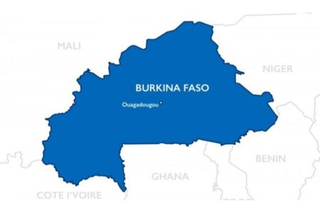 DZALEU.com - Carte du Burkina Faso