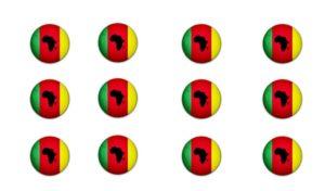 DZALEU.COM : African Lifestyle Magazine - Drapeau logo Dzaleu - Apprendre la langue Ekang Beti Ewondo