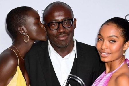 DZALEU.COM : African Lifestyle Magazine - African diaspora & Wealth : Edward Enninful, Vogue British Editor-in-chief with Adut Akech, Yara Shahidi
