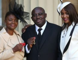 DZALEU.COM : African Lifestyle Magazine - African diaspora & Wealth : Edward Enninful, Vogue British Editor-in-chief with Naomi Campbell