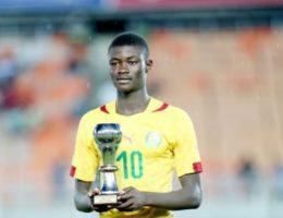 DZALEU.COM : African Lifestyle Magazine - Football : Steve Régis Mvoué, capitaine des Lionceaux U17 du Cameroun