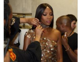DZALEU.COM - African Lifestyle Magazine - Black celebrities : Naomi Campbell Fashion For Relief Show 2019