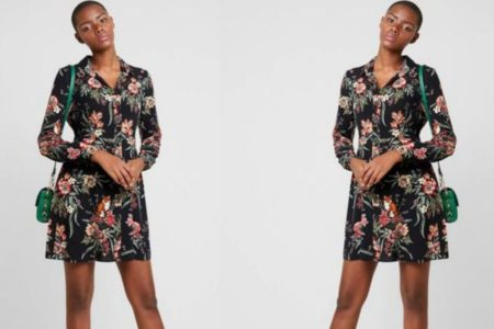 DZALEU.COM : African Lifestyle Magazine - MODE & SHOPPING : La robe fleurie (Short Floral Dress)