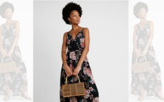 DZALEU.COM : African Lifestyle Magazine - MODE & SHOPPING : La robe fleurie (Short Floral Dress - LA PERLA vendue sur Zalando)