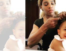 DZALEU.COM : African Lifestyle Magazine - Serena Williams et sa fille Olympia Ohanian pic @olympiaohanian