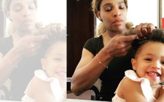 DZALEU.COM : African Lifestyle Magazine - Serena Williams et sa fille Olympia Ohanian pic @olympiaohanian