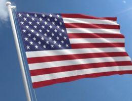 Etats-Unis drapeau américain
