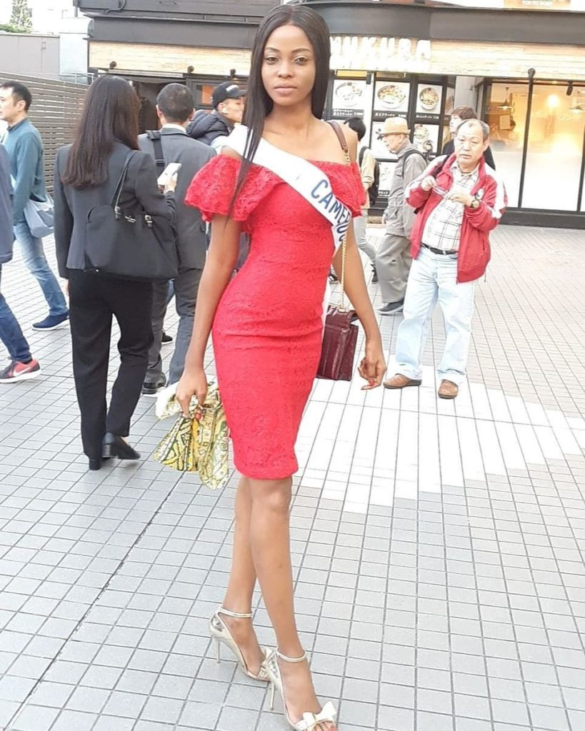 Miss International 2019 - Cameroun - Angèle Kossinda