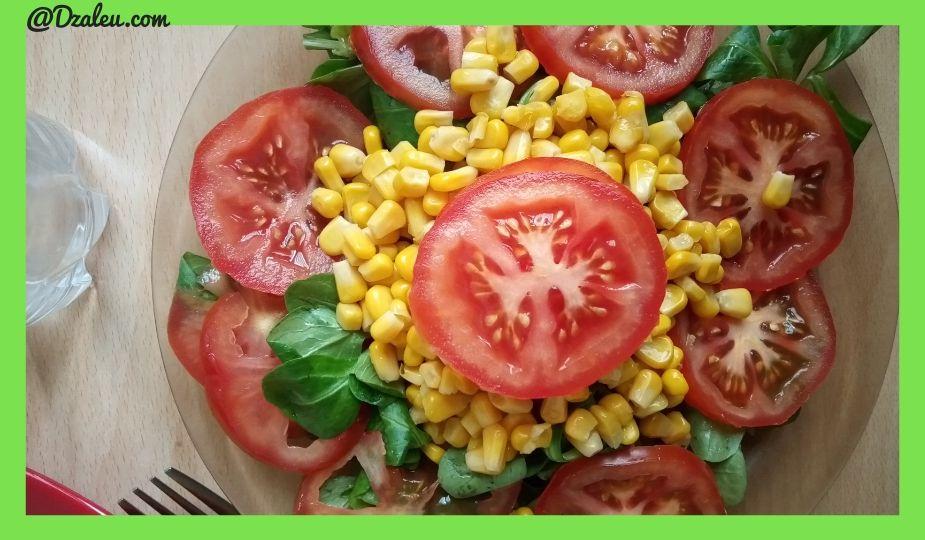 Recette de salade rapide