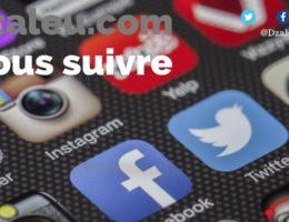 DZALEU & VOUS : Nous suivre sur les réseaux sociaux. Dzaleu.com social media accounts
