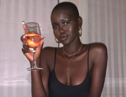 Adut Akech Top model of the year 2019