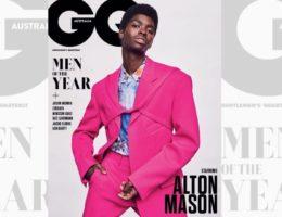 Alton Mason mannequin de l'année 2019 pour GQ Australia