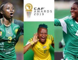 Football féminin : les 3 finalistes du ballon d'or africain 2019 catégorie femmes