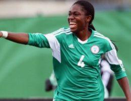 Asisat Oshoala du Nigeria finaliste du trophée de la meilleure Joueuse africaine de la CAF