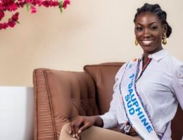 Miss Cameroun 2019, les finalistes : candidate N° 17 Simone Gaelle MBIDA NGUELE, 24 ans (1ère Dauphine Sud)