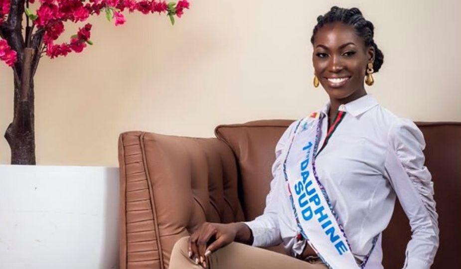 Miss Cameroun 2019, les finalistes : candidate N° 17 Simone Gaelle MBIDA NGUELE, 24 ans (1ère Dauphine Sud)