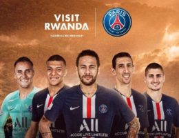 Le Rwanda partenaire premium du PSG