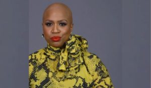 Ayanna Pressley, Congresswoman, about alopecia and bald head