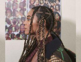 Beyoncé en mode nattes africaines