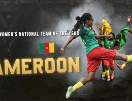 Les Lionnes Indomptables du Cameroun meilleure équipe nationale africaine aux Caf Awards 2019