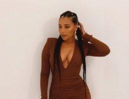 Eudoxie Bridges Mbouguiengue, épouse du rappeur Ludacris - Pic s via @eudoxie (IG)