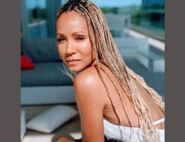 Jada Pinkett-Smith en nattes africaines blondes