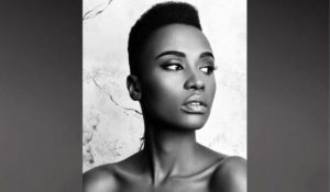 """Zozibini Tunzi : """"Je suis une fille du sol africain. Je suis une guerrière !"""""""